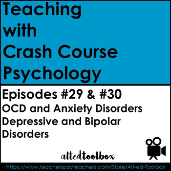 Crash Courses Psychology Package (Depressive and Anxiety D