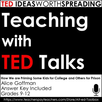 TED Talks Lesson (How We're Priming Some Kids for College