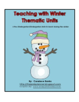 Bears, Snow, and Sweet Treats: A Bundle of Fun Lessons for