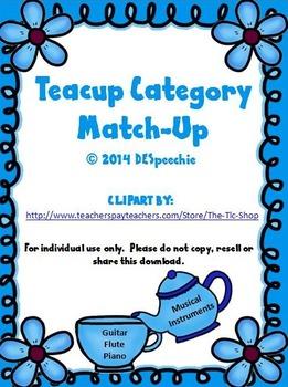 Teacup Category Match Up!