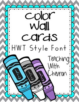 Teal-Grey-Yellow Color Wall Cards