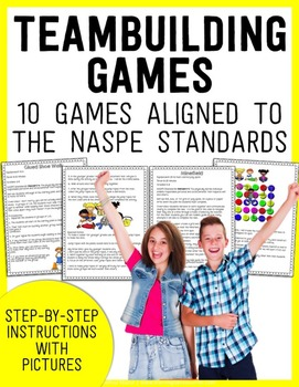 Teambuilding Games for the Classroom or Physical Education Class