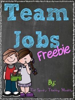 Team Jobs {FREEBIE}