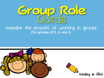 Group Role Cards