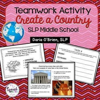 Teamwork Activity: Create a Country