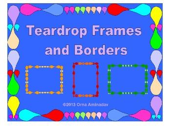 Teardrop Frames and Borders