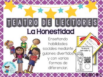 Teatro de lectores- 02 La Honestidad (Readers' Theater in