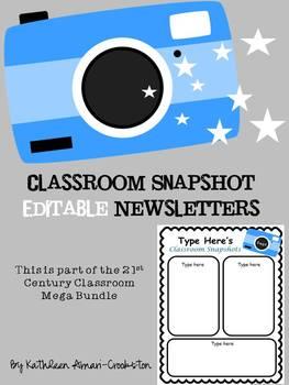 Tech. Themed Editable Newsletters
