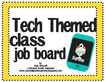 Tech Themed Job Board