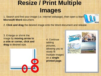 Tech Tips for Mac - Printing Multiple Images on One Page!