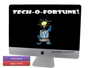 Tech-o-fortune Terms Power Point Game