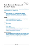 Technical English - Basic Electronic Components