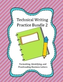 Technical Writing Practice 2: Business Letters - Format, I