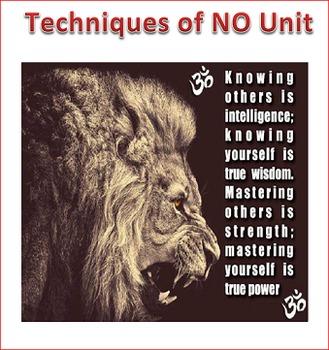Techniques of NO Unit Lesson 4 -- Communicating in Difficu