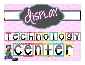 Technology Center Display