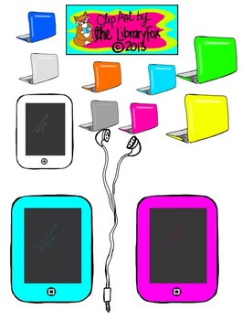 Technology Clip Art for Personal or Commercial Use