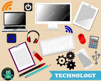 Technology Clipart, Office Clipart