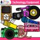 Technology Clip Art Bundle {iPad, Laptop Computer, Headpho