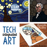 Technology Integrated Art - Pi Day STEAM Project