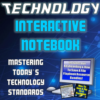 Technology Interactive Notebook for Grades 2-5