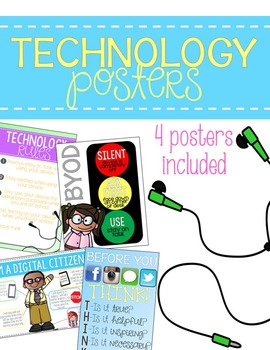 Technology Poster Set