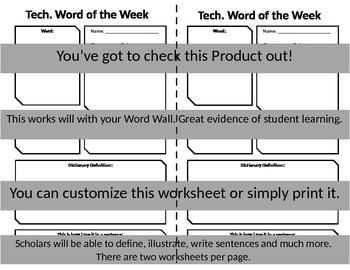 Technology Word of The Week