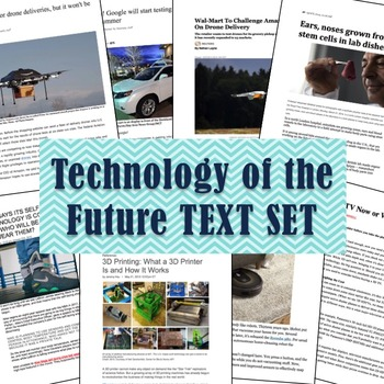 Technology of the Future! TEXT SET