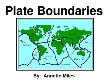 Tectonic Plate Boundaries Powerpoint