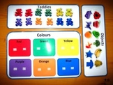Teddies and Objects Colors Game. Great Autism Aspergers AB