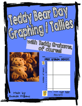 Teddy Bear Theme- Bar Graph and Tally with Teddy Grahams!