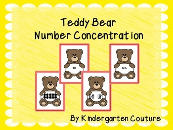 Teddy Bear Number Concentration