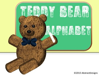 Teddy Bear Word Wall Tags