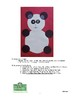 Teddy Bear or Panda Collage: Visual Art Lesson for k and 1