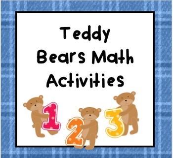 Teddy Bears Math Activities
