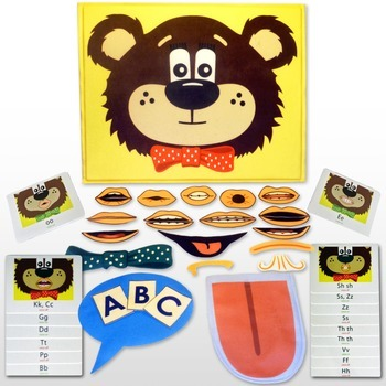 Multisensory Articulation:  Teddy Talker® Combo