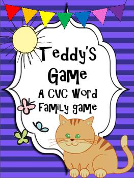 Teddy's Game: A CVC card game