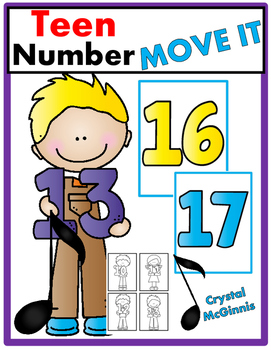 Teen Number JUST MOVE! (A Get Up and Move Around the Class