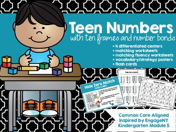 Teen Number Math Centers- EngageNY Inspired