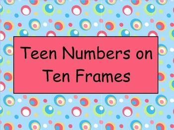 Teen Numbers and Ten Frames - Mimio