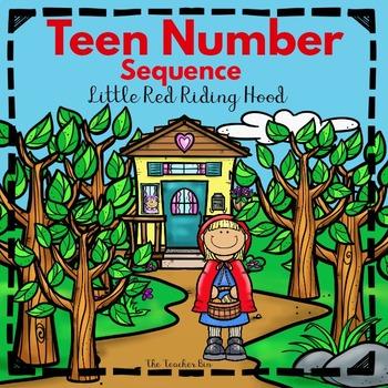 Kindergarten -Special Education-Teen Sequence Game-Snowman!