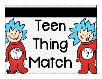 Teen Things {Place Value Match}