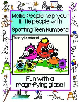 Teen-y Numbers!!  Working with Teen Numbers