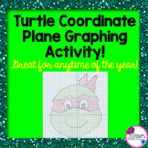 Turtle Coordinate Plane Graphing Activity