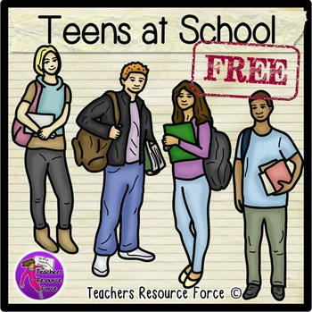 Free teens clip art