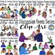 Teens Clip Art Growing Bundle