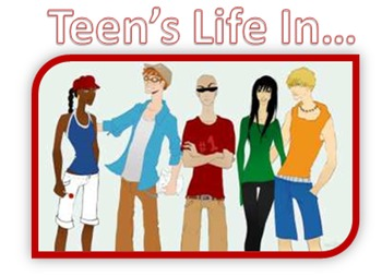 Teen's Life In... Cultural Geography DBQ Worksheets