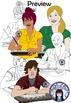 Teen and Teenagers Clip Art Set 3