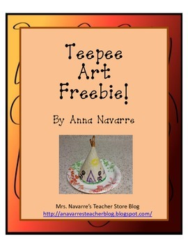 Teepee Art Freebie