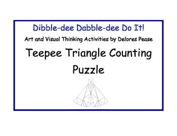 Teepee Triangle Counting Puzzle