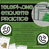 Telephone Etiquette - Listening, Reading, Multitasking, &